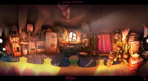 theRapture Kitchen Panorama by sittingducky