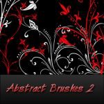 abstract brushes 2 by reven94