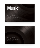 Music Business Card by olex