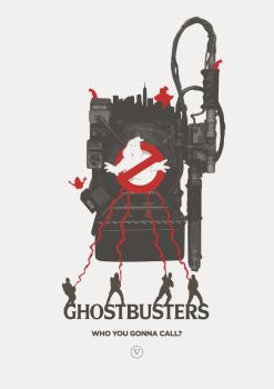 I ain't afraid of no ghosts! - Ghostbusters by lewisdowsett