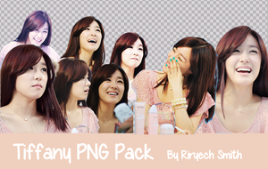 Tiffany PNG Pack by RiryechSmithYul21
