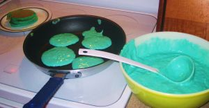 Blue Pancakes by wolfie6