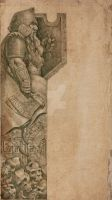 Dwarf watchman bookmark by Gollorr