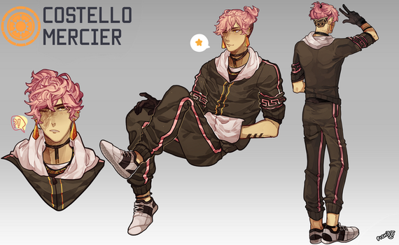 GF: Costello Mercier by Pichoochoo