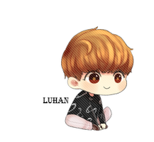 EXO Luhan Chibi PNG by SooyoungLover