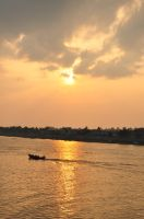 Sunset in Batanghari River by Delacroix16