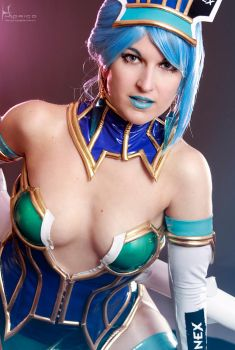 I will help you (Blue Rose from tiger and Bunny) by cos2play