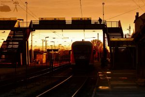 Desiro at the sunset by morpheus880223