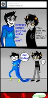 Ask John Egbert 22 by LeijonNepeta