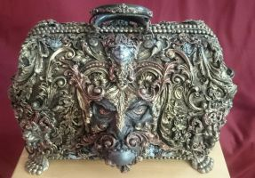 the devil/ lucifers overnight bag by overlord-costume-art
