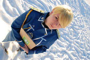 Riza Hawkeye - In a foreign country. by Millahwood