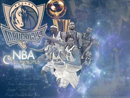 Dallas Mavericks NBA Champs by Golden24Knight