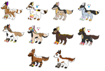 Pups for KittehzAdopts by LizzysAdopts