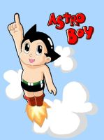 astroboy...on MSPaint by i-love-renji