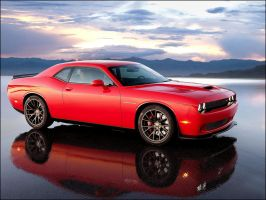 Dodge Challenger Hellcat by D3516N3R