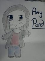 Chibi Amy Pond by zozzy-zebra