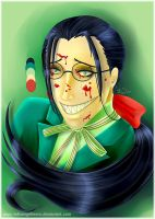 Butler Grell Colour Challenge by fallnangeltears