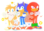Sonic Heroes by Maddzee