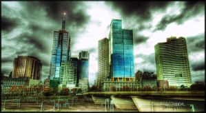 Melbourne Fringe HDR by DirtyLittleDevil