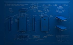 Blueprint 3D iPhone 5 by Dracu-Teufel666