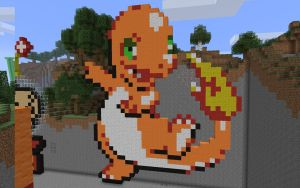 Minecraft - Pokemon Charmander by unusual229