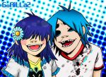 2D and Noodle by metroground