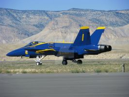 Blue Angel 1 taxi out by Qphacs