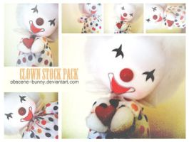 Clown Stock Pack by obscene-bunny