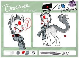 Banshee Reference Sheet by Kage-wolf13