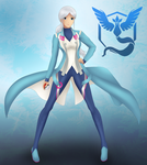 Team Mystic leader Blanche by Exede