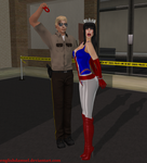 Miss Britain Arrested and... Unmasked! by EnglishDamsel