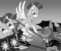 Civil war! Black and White by The-sinful78