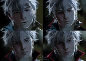 Gintoki process by Olggah