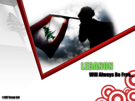 Lebanon Will Always Be Free by Dreamsoft
