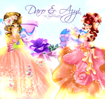 Queen of the ball invite you! (Daro and Azyi) by NiaTayn