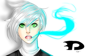Danny Phantom (animeish doodle) by AnimeShark