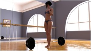 Girl who lifts [image 1] by RetroDevil
