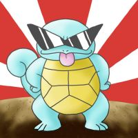 Epic Squirtle by Peagreen