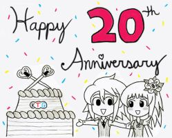 Happy 20th Anniversary Atelier Series by gaming123456