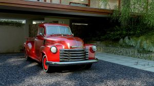 1951 CHEVROLET 3100 by melkorius