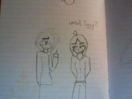 This is what happens when my sis and I are bored by DigiKyT
