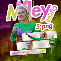 PNG PACK (13) #MILEY CYRUS -part #2- by SmilerGorl9