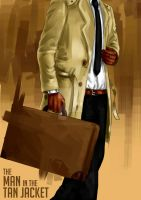 The Man in the Tan Jacket by Hate-Incarnate
