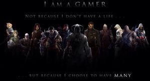 I AM A GAMER!! by protector96