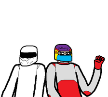 Anthony and The Stig by blackevil915