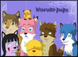 Contest entry-Waruto pups by Gabychan91