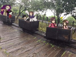 Hetalia Mine Carts by AmphritriteL