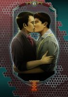 Torchwood: Jack and Ianto by Silarcta