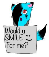Smile by Pinkwolfly