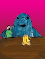 The Manatee by cb-smizzle
